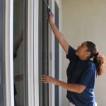rengöring av balkong samt fönsterputsning