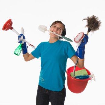 rengöringstips för snabbstädning av hemmet